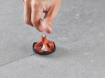 Rondella base anti risco para nivelador de rosca VITE