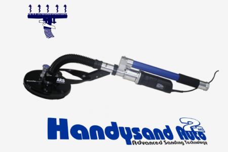 Handysand2 Maquina de lixar com efeito de sucção