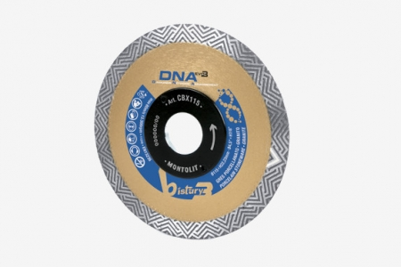 CBX 115 - Disco diamantado DNA para rebarbadora
