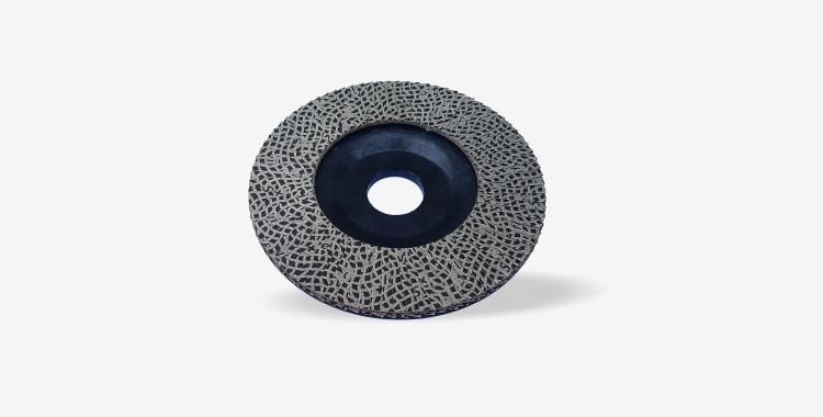 Disco de lamelas diamantadas para rebarbadora